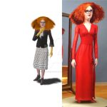 Myrtle Snow American Horror Story Coven Sims 3 by studiomonroe