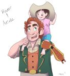 Rover and Arielle by chill13