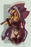 Hunter Chick by Nema by Ross-A-Campbell