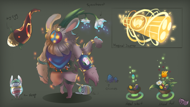 Easter Bard Concept by ZombieCeli