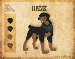 Hank - Character Sheet by Skailla
