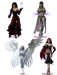The Ladies of Nephanor's Renders - Part 1 by Nephanor