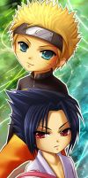 Naruto- Chibi Team7 by ramy