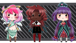Chibi Adopts [CLOSED] by MamaGizzy
