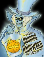 Hatbox Halloween by Edward-Morte