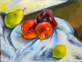 still life with fruit by Blakavitch