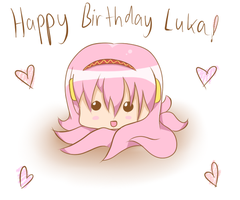 Happy Birthday Luka by cyberbubble99