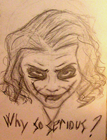 Why so serious? by LobaLemu