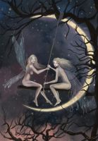 Fairies of the night by BasakTinli