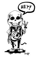 Calavera-boy by UNDISCOVER-art