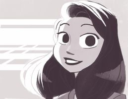 Meg - Paperman (color) by PrissCz