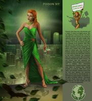 Poison Ivy by Thylacinee