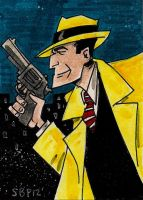 Dick Tracy by SpencerPlatt