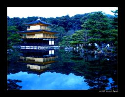 Kyoto Golden Temple 01 by Greeneyes17