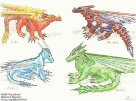 2000 - Series 2 - Dragons 8 by Stratadrake