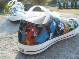 pokemon shoes by albinomintoreo