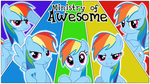 The Ministry of Awesome (Wallpaper) by 19thejohn93
