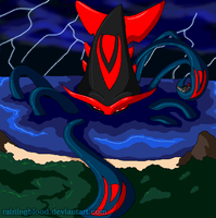 DARK GOD POKEMON - Gorodos by Chibi-Warmonger