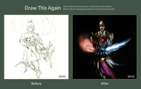 Protoss Science Project _ Draw it Again by soc4cop17
