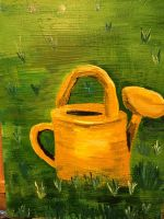 Watering can - Sold by roxiebwhite