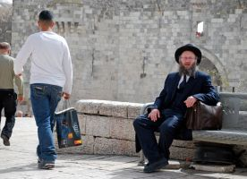 Man at the Damascus Gate by dpt56
