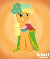 Applejack gorgeous by Infera1
