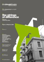 Poster_strings of difference_1 by B-positive