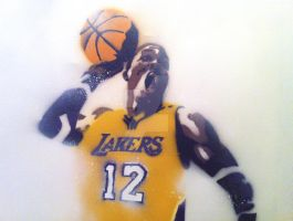 Dwight Howard Stencil by thelincdesign