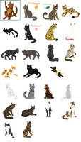 Pixel Sprite Commissions by Teahorse