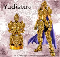The Golden Armor of Yudistira by elangkarosingo