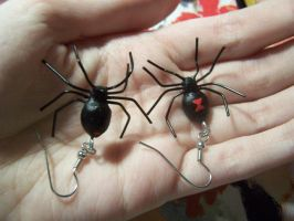 Black Widow Spiderings by RacieB
