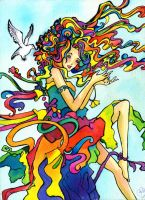 Psychedelic Mess by DreamsOfDownfall