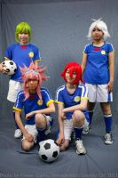 We are Inazuma Japan by neecchii