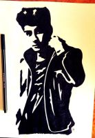 Zayn Malik pop art by LouTomlinfiglio