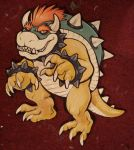 Bowser wood cut out by missmonster