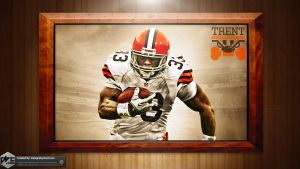 Trent Richardson Browns HD Wallpaper by Chadski51