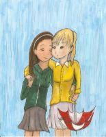 Brittana: 8th Grade by aluress