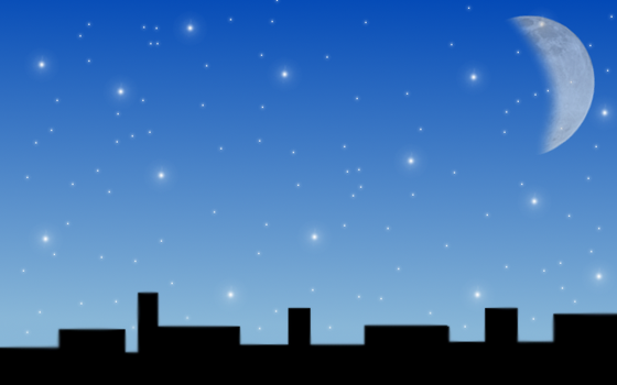 Starry City by dreamscaping