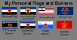 My Personal Flags and Banners by DeltaHD