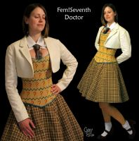 Feme!7th Doctor cosplay WIP UPDATE! by WanderingWindward