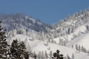 Snowy Mountains 2 by FoxStox