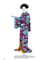 Edo Period Geisha by myloko