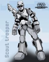 Star Wars Animated Scout Troop by ninjha