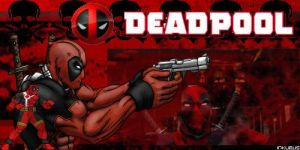 DEADPOOL Signature Banner by Inkubus666