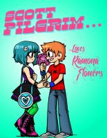 SCOTT PILGRIM LOVES by Tsukiko88
