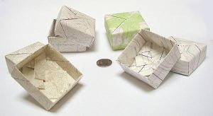 Modular boxes 1: map paper by wombat1138