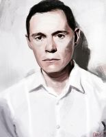 Burn Gorman practice by Namecchan