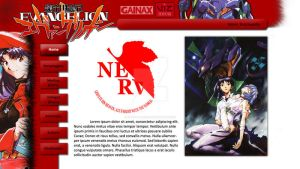 -BETA- NGEvangelion fan-site by Kawatta-Kun