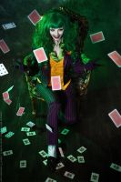 Female Joker cosplay 1 by HydraEvil