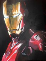 IronMan  by CwhiteArt